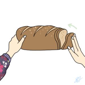 Kapje van het brood